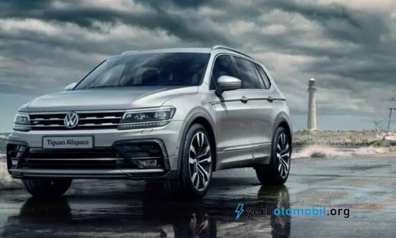 2021 Volkswagen Tiguan Allspace için ilk Görsel Geldi