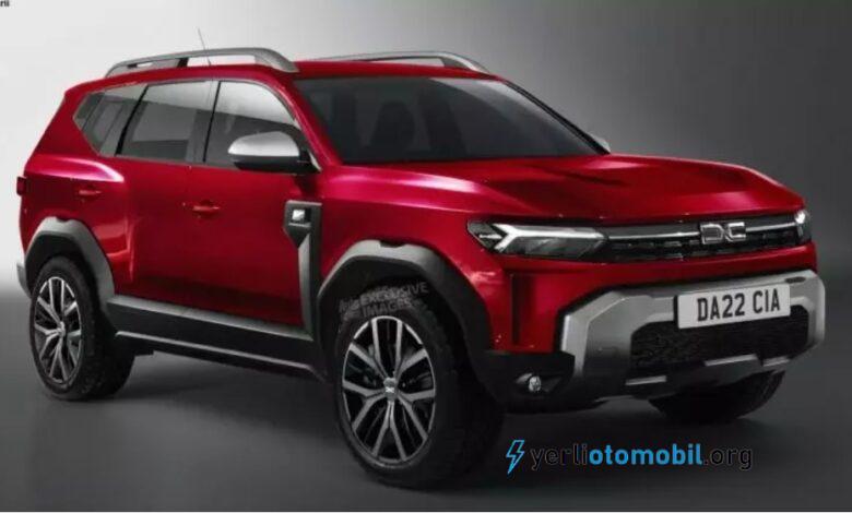 2022 Dacia Bigster tasarımı bu şekilde olacak!