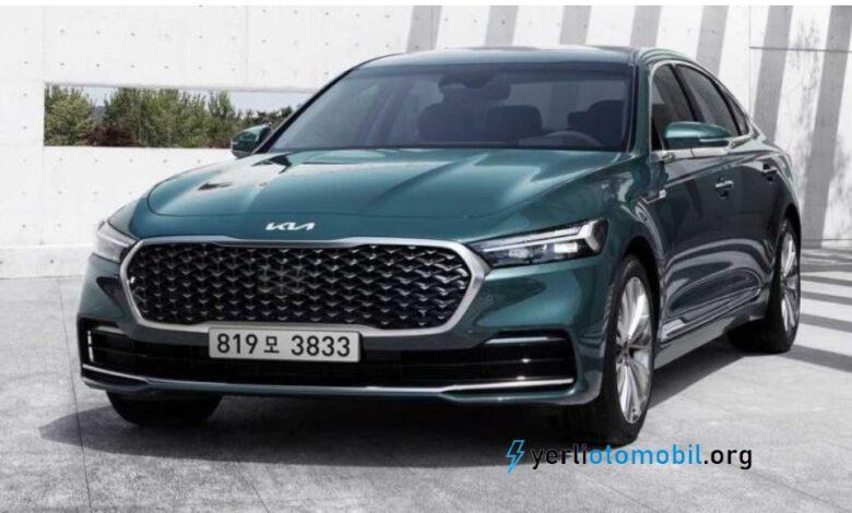 2022 Kia K9 Motor Seçenekleri ve Fiyatı