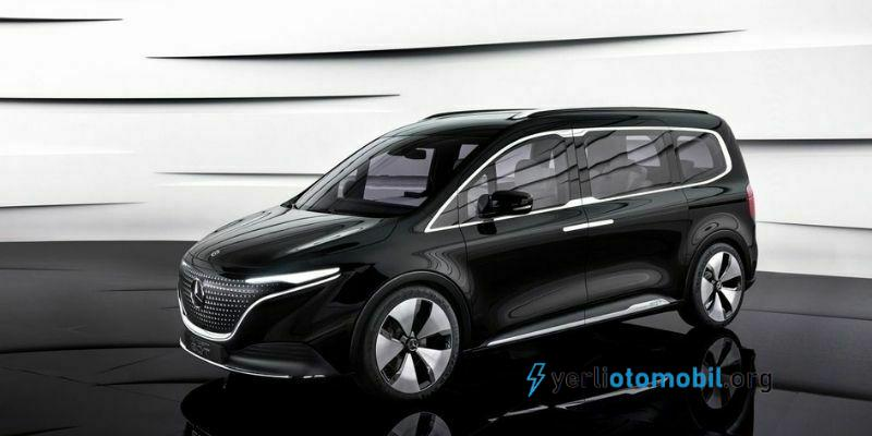Mercedes-Benz Concept EQT Tanıtımı