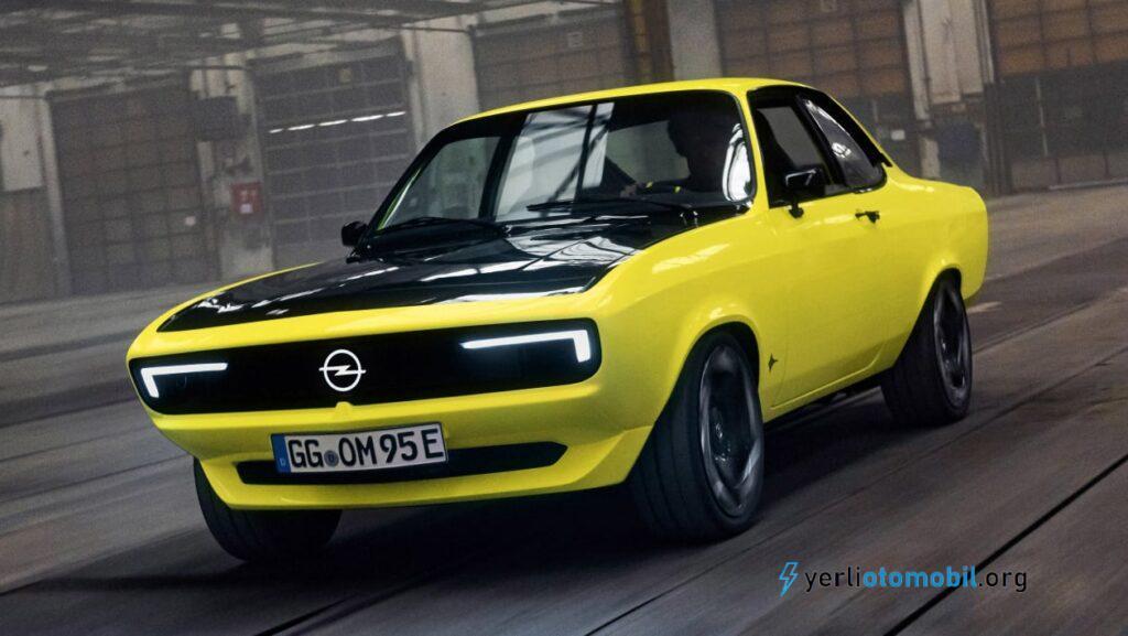 Opel Manta GSe ElektroMOD hakkında detaylar neler?