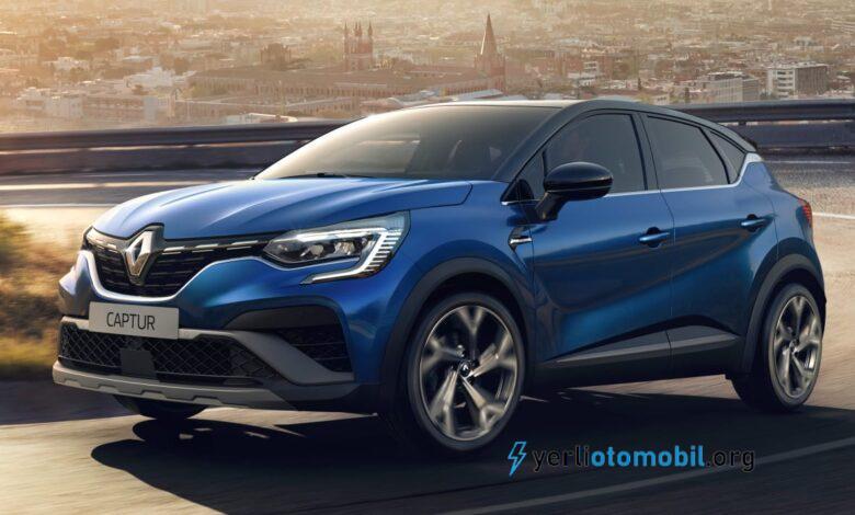 2021 Renault Captur RS Line ve SE Limited donanımları ortaya çıktı!