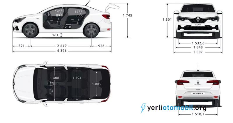 Renault Taliant iç ve dış tasarımı nasıl