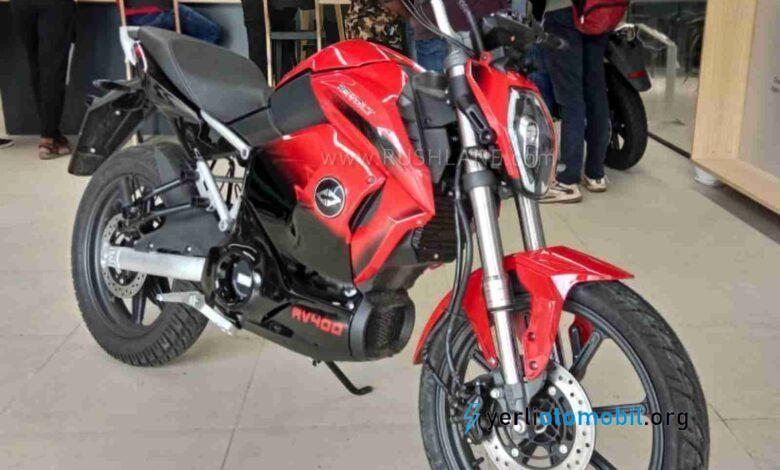Revolt Elektrikli Motosiklet Rezervasyona Kapandı