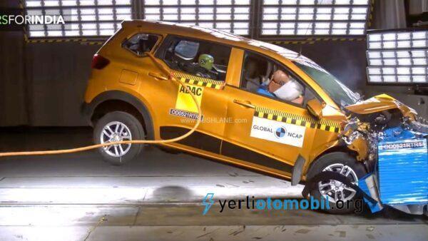 Renault Triber NCAP Testi