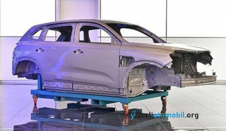Yerli otomobil TOGG'un ilk montaj görüntüleri geldi