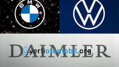 Emisyon Teknolojisi için Daimler ile işbirliği yapan, BMW ve Volkswagen'e para cezası!