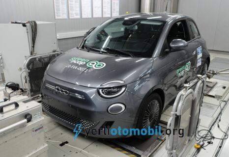 Yüzde yüz Elektrikli Fiat 500 GreenNcap testinden 5 yıldız aldı. Bu haberimizin detaylarında sizlere GreenNcap testini başarılı bir şekilde geçen