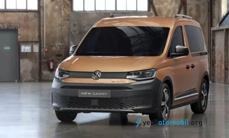 Volkswagen Caddy PanAmericana Almaya'da satışa çıktı!