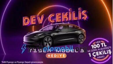 Hepsiburada Tesla Model 3 çekiliş şartları neler?