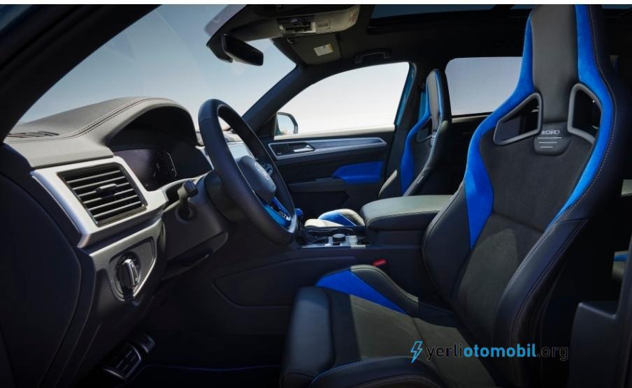 Volkswagen Atlas Cross Sport GT Konsepti Görücüye çıktı!