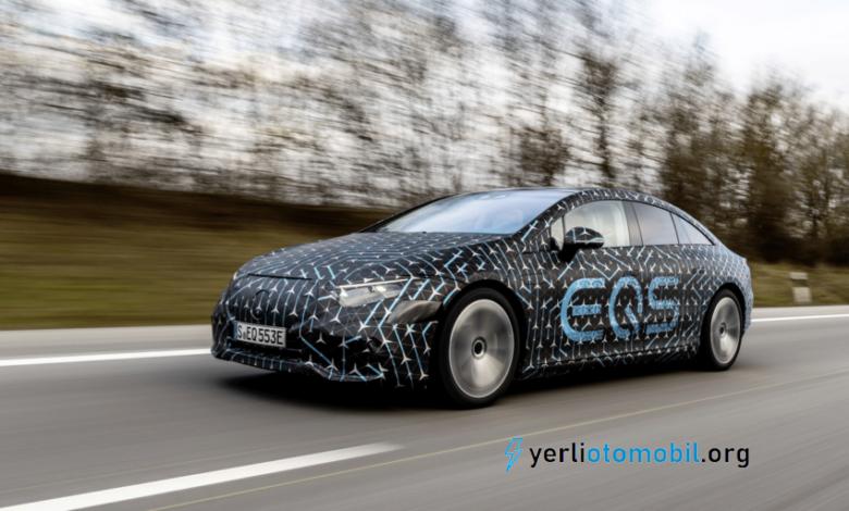 Mercedes Benz EQS kaç km menzile sahip?