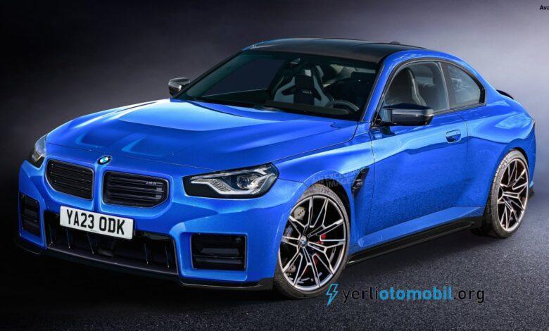 2022 BMW M2, 400 beygir güçle piyasaya çıkacak