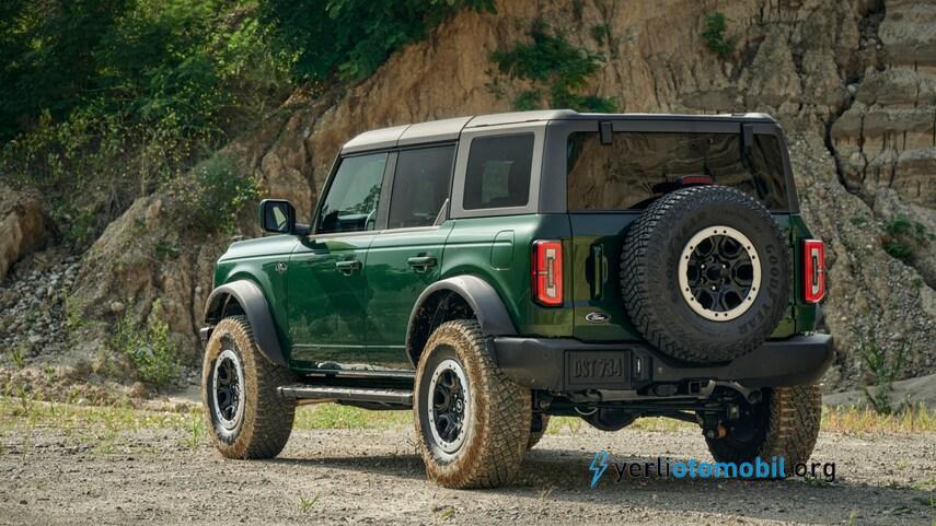 2022 Ford Bronco için Yeşil Renk seçeneği de olacak! Araç Türkiye de satışı olacak mı? Satılırsa 2022 Ford Bronco Türkiye satış fiyatı ne kadar olacak?