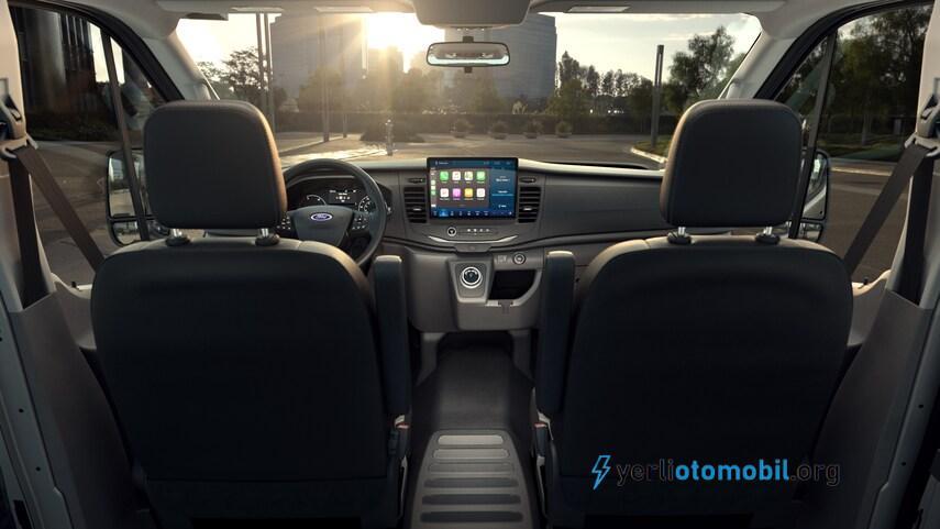 2022 Ford E-Transit Elektrikli Minibüs Geliyor! Ford E-Transit Elektrikli Minibüs özellikleri neler? Menzili ne kadar? Batarya kapasitesi ve şarj süresi ne kadar?