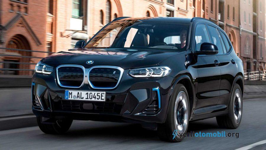 2022 BMW iX3 Makyajlı Kasayla Tanıtıldı!