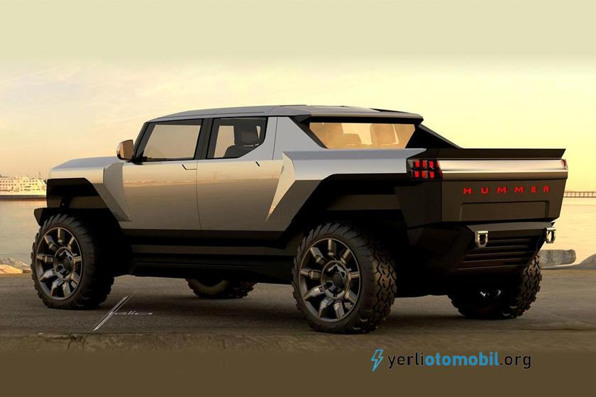 GMC Hummer EV, Cybertruck Kadar Keskin Görünüyor!