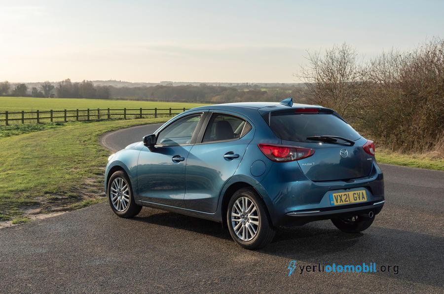 Güncellenen 2021 Mazda 2 modeli 113 beygir güç üretiyor