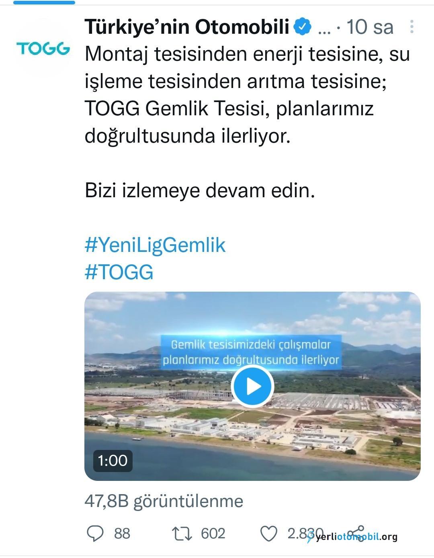TOGG Fabrikası Hızla Yükseliyor!