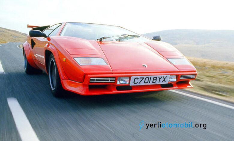 Lamborghini Countach 800 Beygir V12 hybrid olarak yeniden doğacak