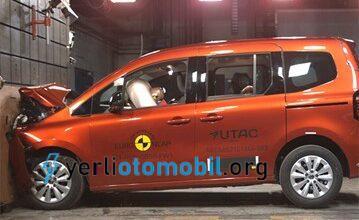 2021 Renault Kangoo NCAP sonucu başarılı! 4 yıldız aldı!