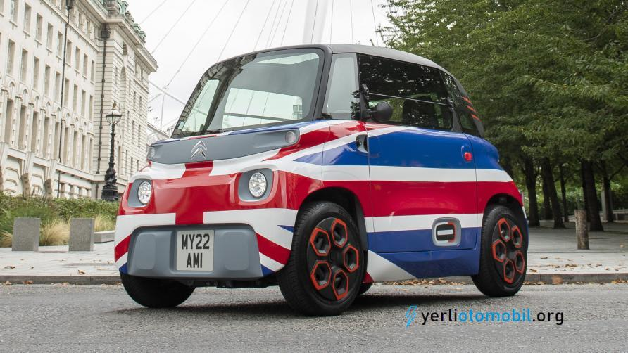 Citroen Ami 2022'de İngiltere'de yollarda olacak
