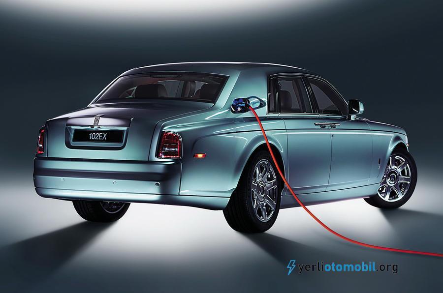Rolls Royce Elektrikli otomobil tanıtımı olacak!