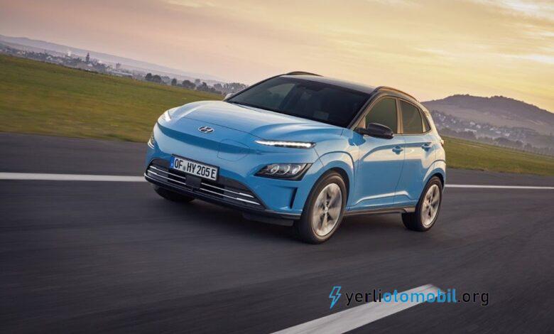 Hyundai Kona Elektrik Türkiye'de Satışta!