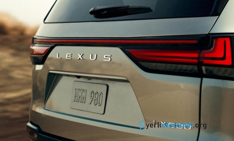 2021 Lexus LX 600 Bu Hafta Tanıtılacak!
